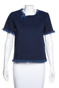 MARQUES'ALMEIDA Top Blue