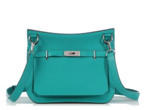 Hermès Hr.q0225.04 Teal Palladium 2016 Reduced Price Cross Body Bag
