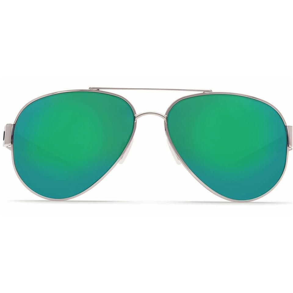 504132abd4 Costa Del Mar South Point Palladium Frame   Green Mirrored Polarized ...