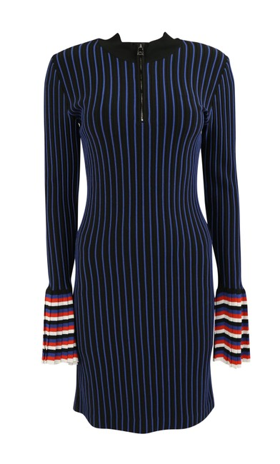 Preload https://img-static.tradesy.com/item/25116954/emilio-pucci-multicolor-stripe-knit-long-sleeve-mid-length-workoffice-dress-size-8-m-0-2-650-650.jpg