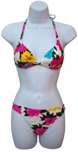 Other Verona Multi Color 2 Piece Floral Bikini Swimwear
