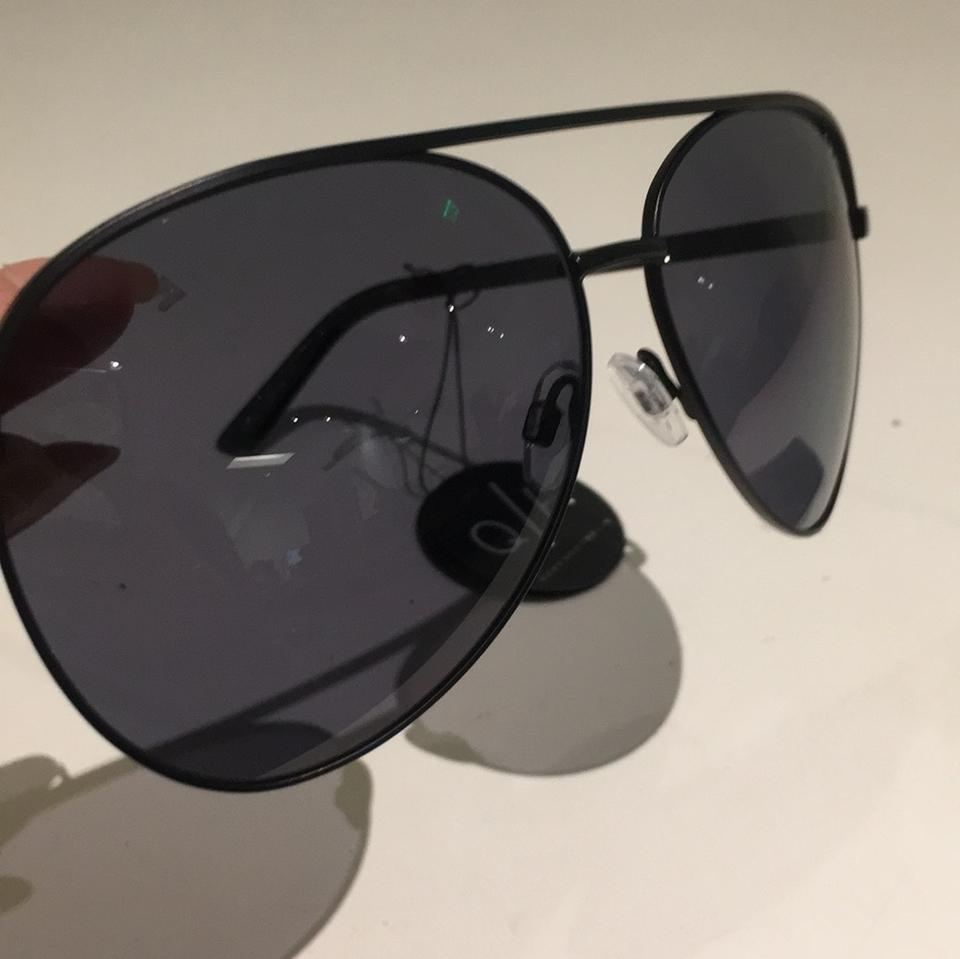 96943e94582e7 Quay Black Aviator Sunglasses - Tradesy