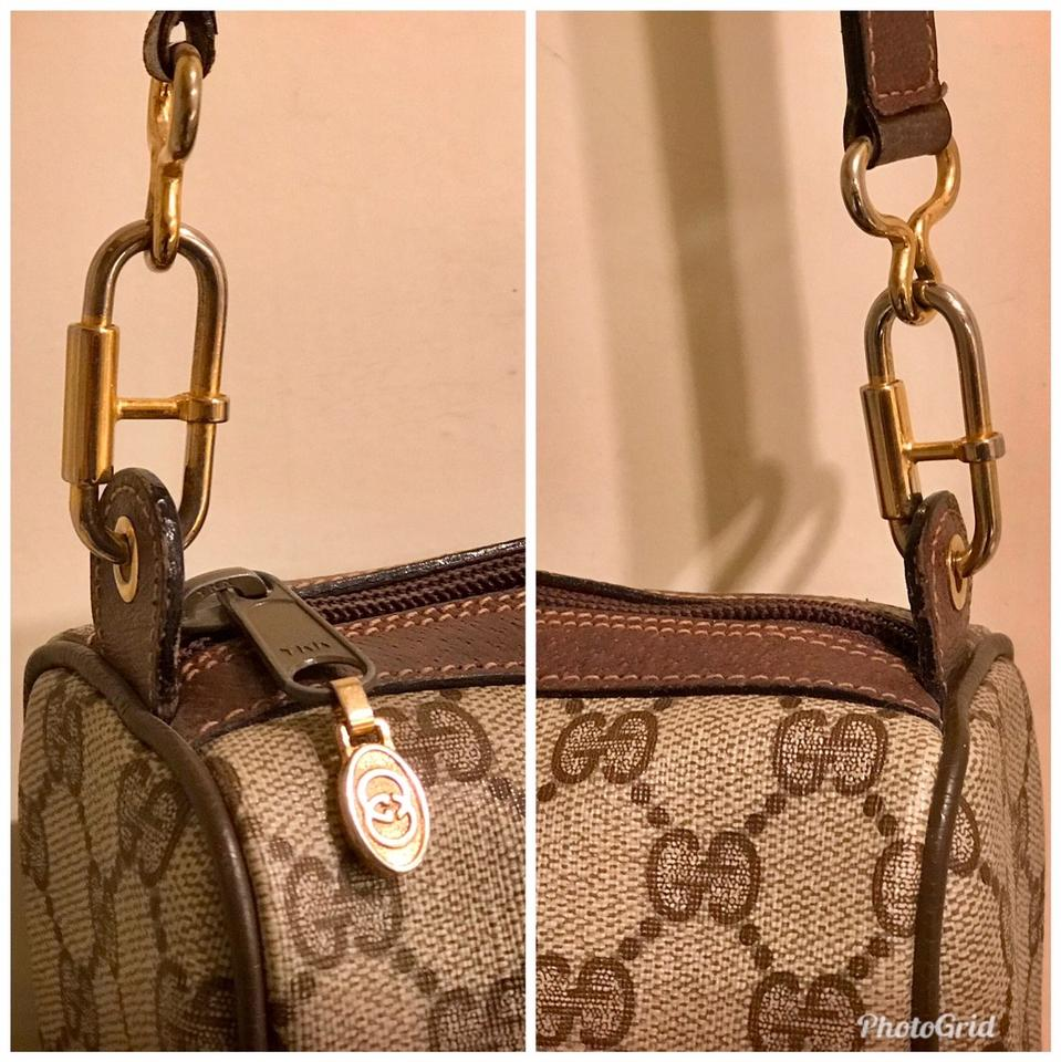 5806d3a9832006 Gucci Monogram Gg Supreme Sherry Line Ophidia Brown Pvc/Coated ...