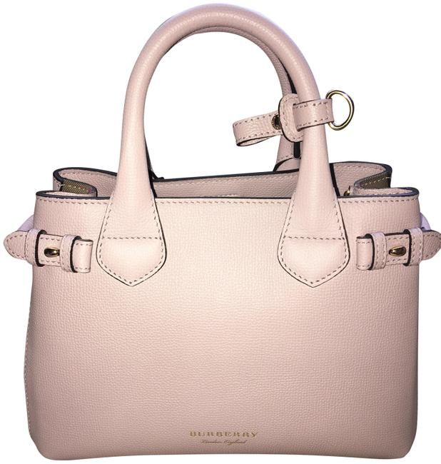 Item - Banner Pale Orchid Leather Tote