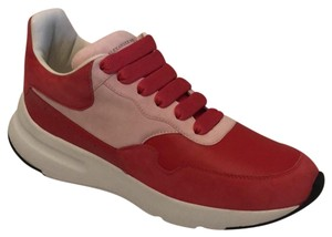Alexander McQueen Red and Pink Athletic