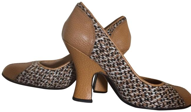 Item - Multi Weave Leather And Pumps Size EU 35.5 (Approx. US 5.5) Regular (M, B)