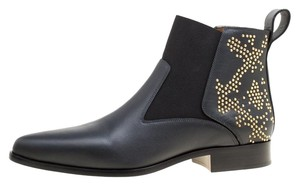 Chloé Leather Studded Black Boots