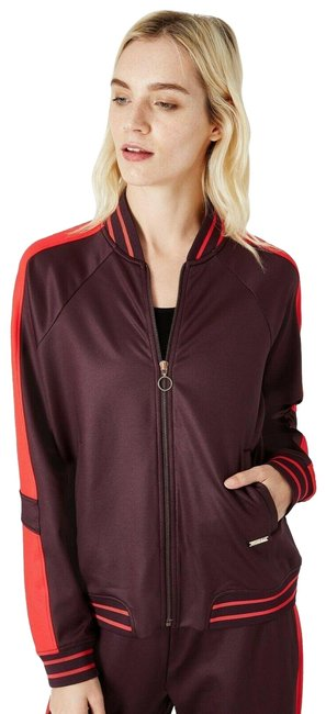 Sweaty Betty Aubergine Craft Track Top Activewear Outerwear Size 8 (M) Sweaty Betty Aubergine Craft Track Top Activewear Outerwear Size 8 (M) Image 1