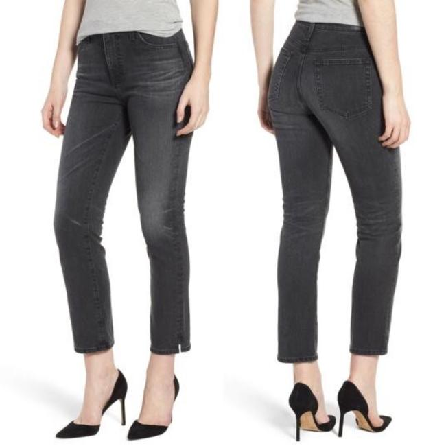 Item - Black Grey Isabelle High Rise Straight Leg Jeans Size 10 (M, 31)