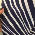 Lilly Pulitzer Silk Nautical Preppy Gold Top Blue Image 1