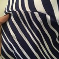Lilly Pulitzer Silk Nautical Preppy Gold Top Blue Image 2