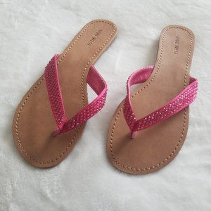 Nine West Hot Pink Sandals