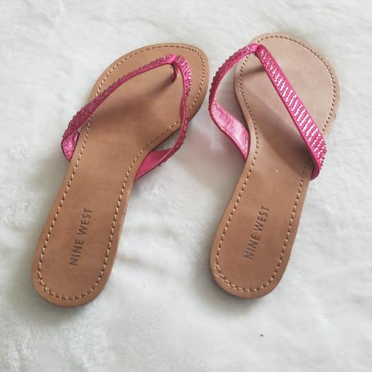 Nine West Hot Pink Sandals Image 2