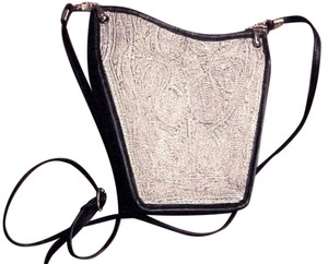 ALBANO Wearable Art One Of A Kind Antique Mesh Shoulder Bag