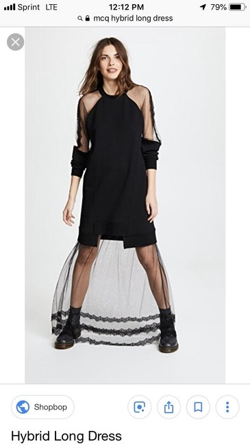 Preload https://img-static.tradesy.com/item/25120528/mcq-by-alexander-mcqueen-black-hybrid-long-casual-maxi-dress-size-6-s-0-1-650-650.jpg