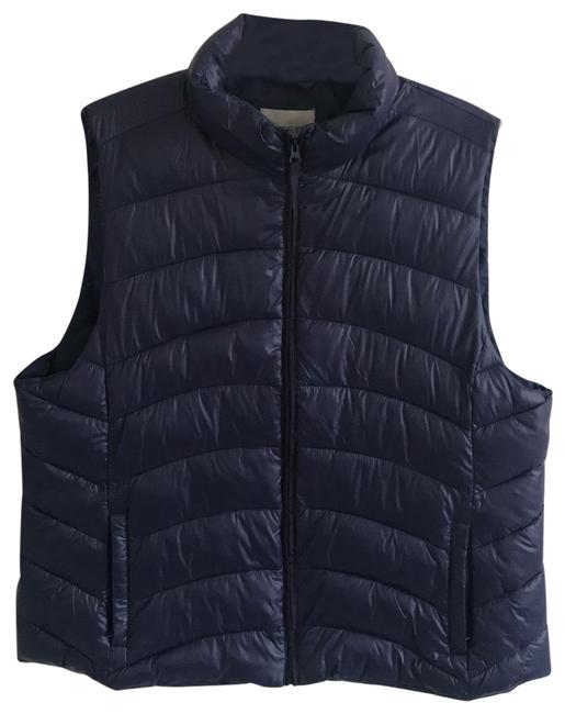 Item - Navy Baffled Vest Size 18 (XL, Plus 0x)