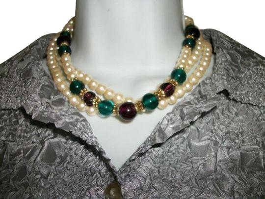 Preload https://img-static.tradesy.com/item/25120613/1928-white-faux-pearls-strands-necklace-0-1-540-540.jpg