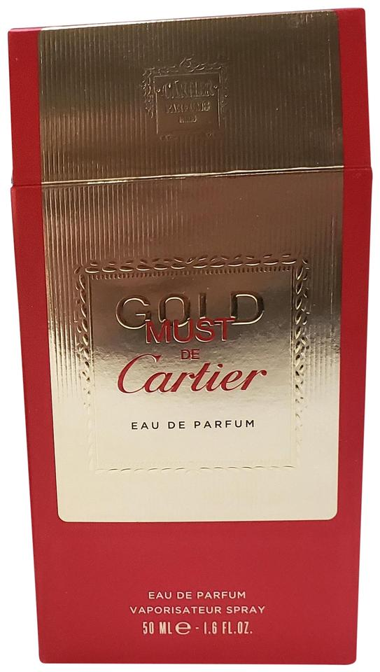 Cartier Must De Gold Eau Parfum Spray 50ml16oz Nearly Ful