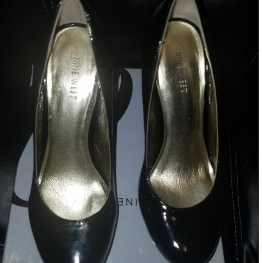 Nine West black patent leather Pumps Image 3