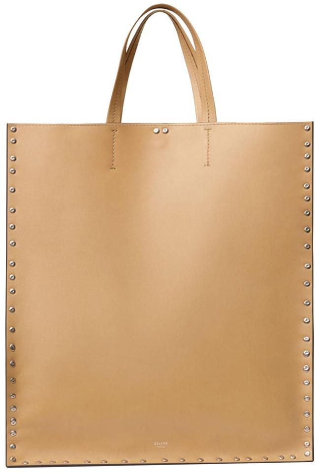 983d99569 Céline Cabas Cabas With Studs Cabas Studded Cabas Tote in Beige Sand Natural  Image 0 ...