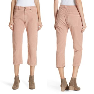 The Great. Capri/Cropped Pants Pink