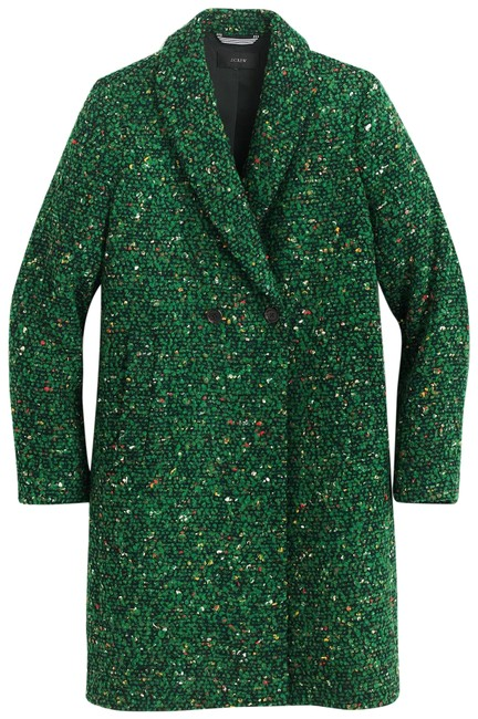 Preload https://img-static.tradesy.com/item/25122332/jcrew-green-new-with-tag-daphne-in-italian-tweed-coat-size-petite-4-s-0-1-650-650.jpg