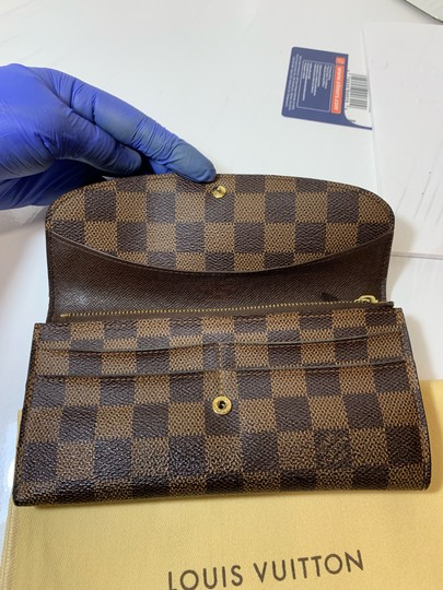 Louis Vuitton Emilie Bifold wallet with duster Image 7