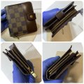 Louis Vuitton Damier Compact wallet with duster Image 1