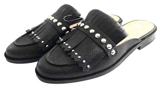 Preload https://img-static.tradesy.com/item/25122636/a-new-day-black-fringe-studded-loafer-mulesslides-size-us-9-regular-m-b-0-1-540-540.jpg