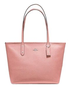 Coach Tote in Petal Pink
