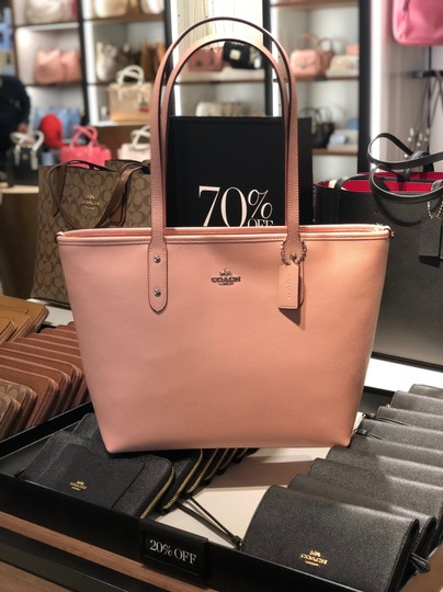 Coach Tote in Petal Pink Image 2