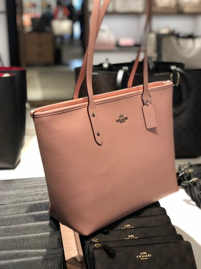 Coach Tote in Petal Pink Image 3