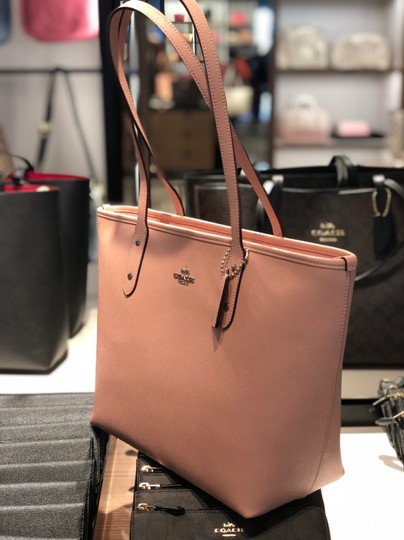 Coach Tote in Petal Pink Image 4