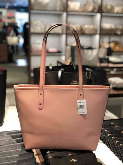 Coach Tote in Petal Pink Image 5
