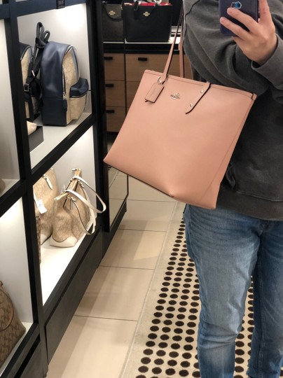 Coach Tote in Petal Pink Image 8
