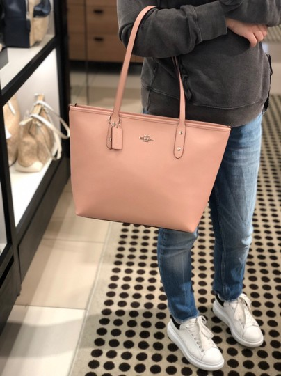 Coach Tote in Petal Pink Image 9