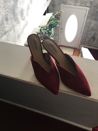 Comfortview red Mules Image 1
