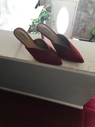 Comfortview red Mules Image 3