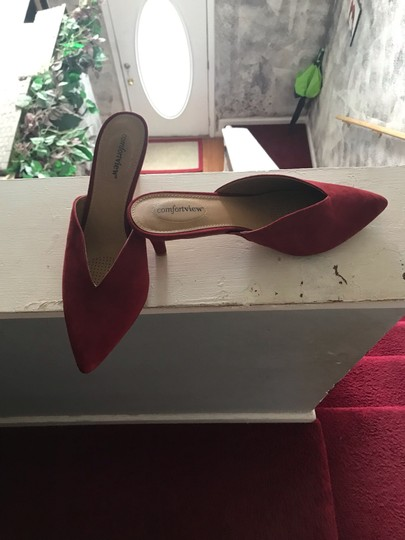 Comfortview red Mules Image 4