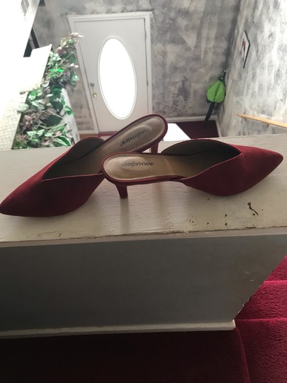 Comfortview red Mules Image 5