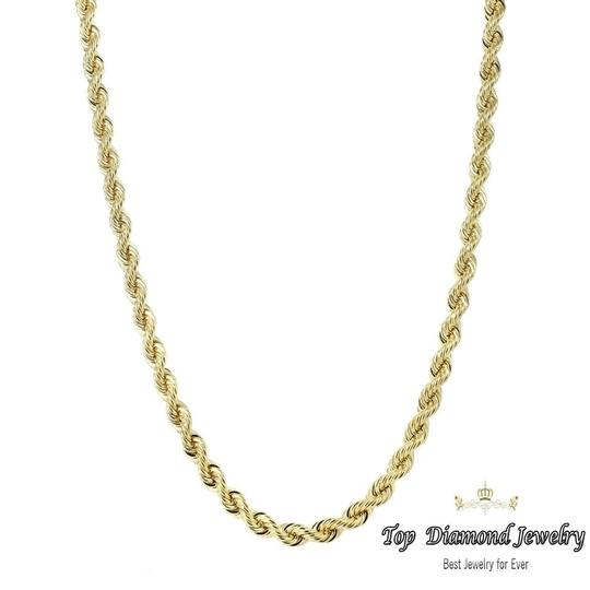 Preload https://img-static.tradesy.com/item/25122978/yellow-14k-men-s-solid-rope-chain-twist-4mm-24-necklace-0-0-540-540.jpg