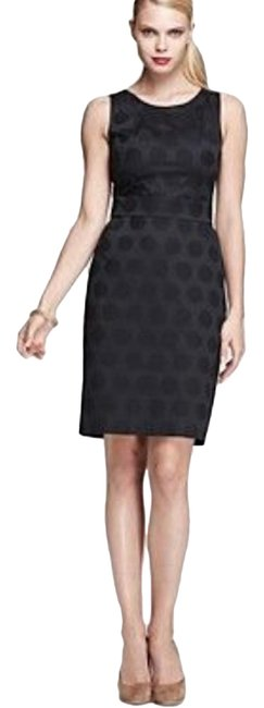 Preload https://img-static.tradesy.com/item/25123022/kate-spade-black-alme-polka-dot-mid-length-cocktail-dress-size-6-s-0-1-650-650.jpg