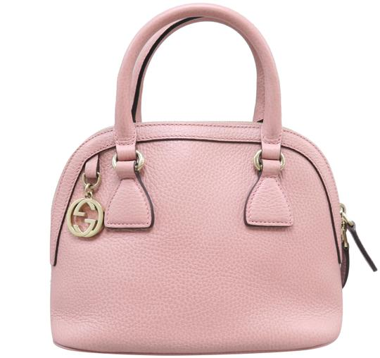 Gucci Calfskin Dome Mini Satchel in Pink Image 0