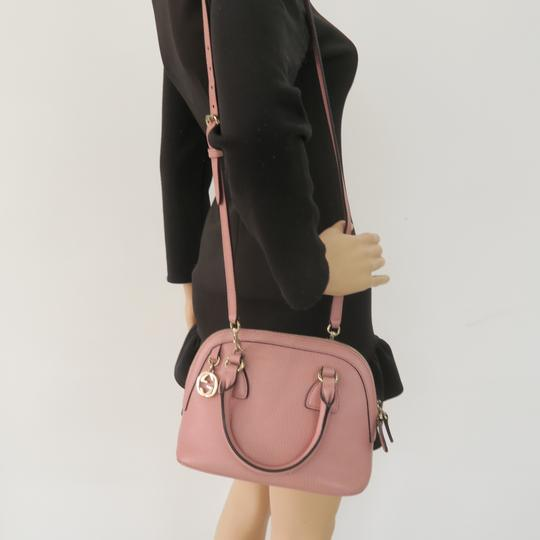 Gucci Calfskin Dome Mini Satchel in Pink Image 11