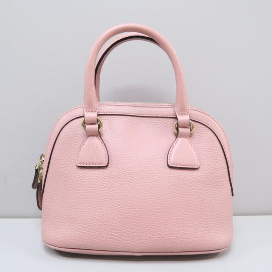 Gucci Calfskin Dome Mini Satchel in Pink Image 2