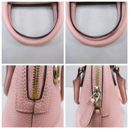 Gucci Calfskin Dome Mini Satchel in Pink Image 7