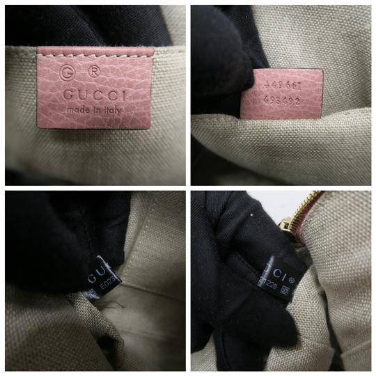 Gucci Calfskin Dome Mini Satchel in Pink Image 9