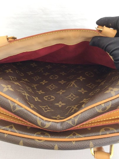 Louis Vuitton Monogram Mm Tote Lv Tote Lv Canvas Tote Lv Coated Canvas Tote Hobo Bag Image 11