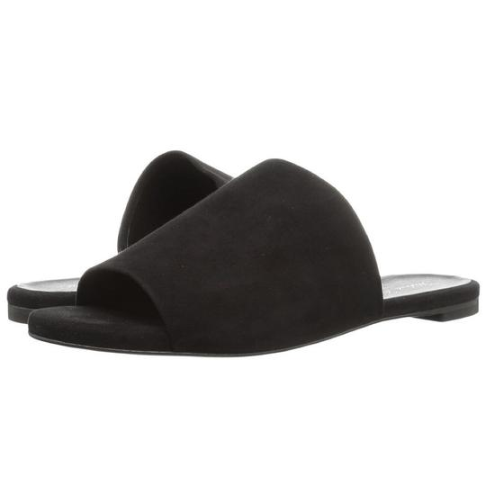 Robert Clergerie Casual Sandal Suede Black Flats Image 3