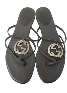 6536e469602846 Gucci Gg Silver Hardware Guccissima Gold Hardware Charm Grey Sandals